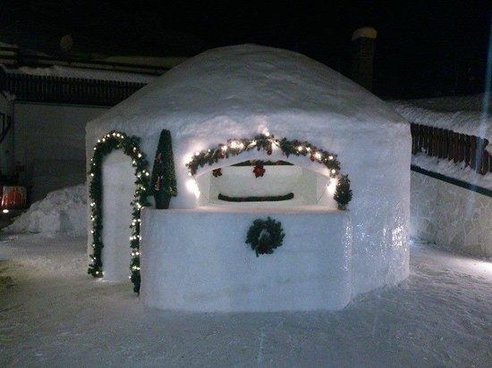 Hotel Alpenrose: Igloo