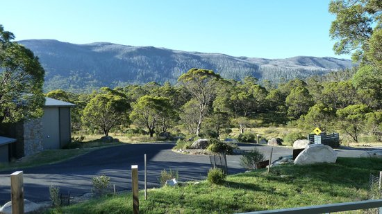 Lake Crackenback Resort & Spa : Nice mountain view