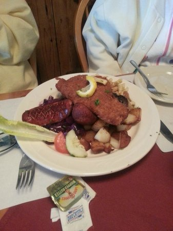 Cafe Old Vienna : German Platter for One