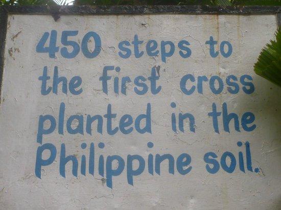 Limasawa Island: Many steps to malk
