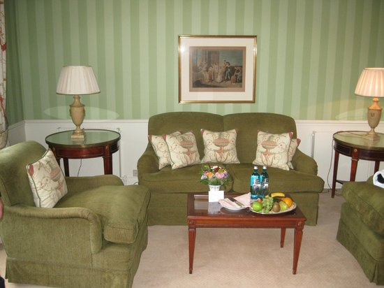 Brenners Park-Hotel & Spa: Suite