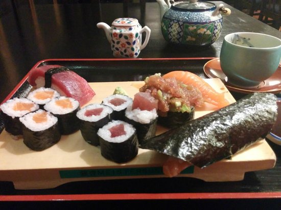 Japanisches Restaurant GINGKO: Sushi-Mix