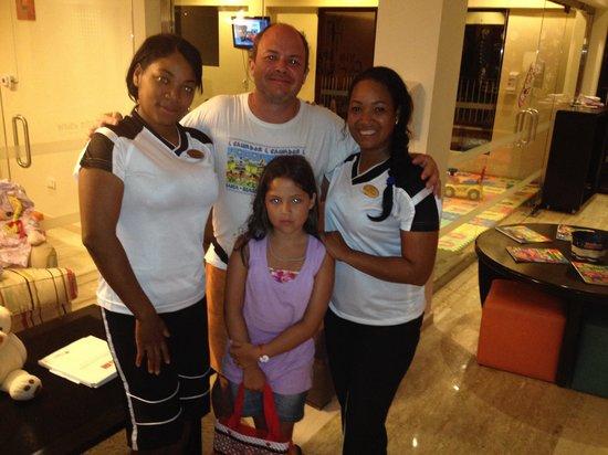 Equipo de Kids Zone Paradisus Punta Cana