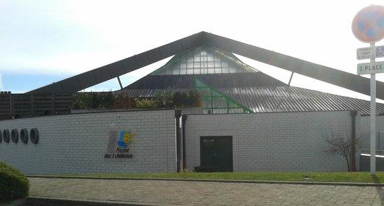 Logo picture of piscine intercommunale des trois for Piscine de ribeauville