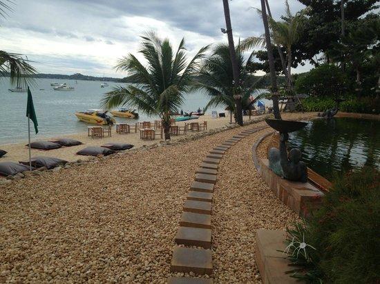 Anantara Bophut Koh Samui Resort: Beach