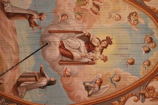 Igreja Nossa Senhora do Carmo: Pintura no teto