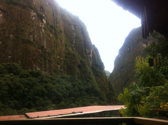 Rupa Wasi  Lodge : vista da sacadinha do quarto.