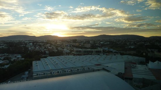 The Westin Guadalajara: Sunset from room