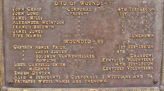 Fallen Timbers Battlefield: The Wounded