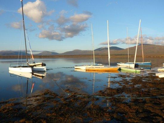 Ballycroy, Irlanda: The boats at rest