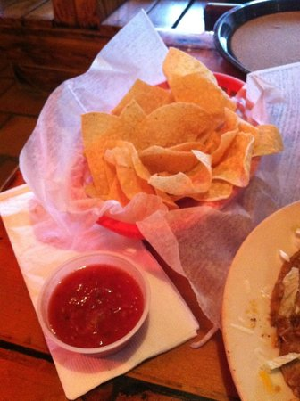 Taco City: Complimentary Chips n Salsa