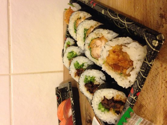 KIBOUsushi : Takeaway Duck & Chicken Futomaki