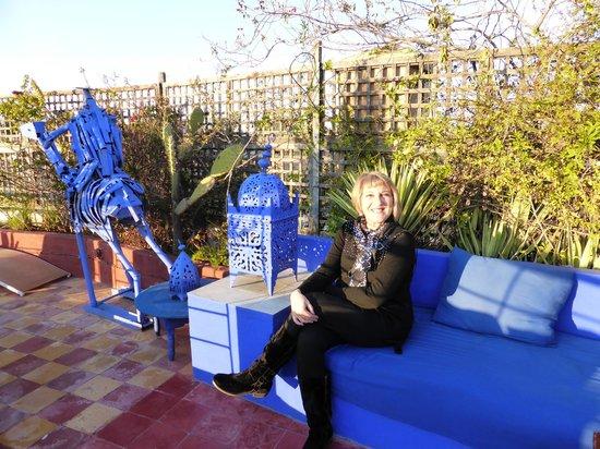Riad Chouia Chouia: Magnificas terrazas para desayunos y descanso