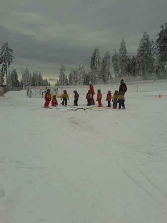 Station de Ski du Lac Blanc : Cours ESF Piou-Piou