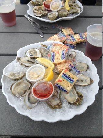 Snook Inn : Verdensklasse østers