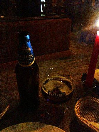 Amatininku Uzeiga : Cerveza Svyturys Baltijos, mi preferida