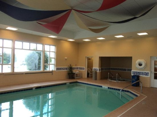 Holiday Inn Express Hotel & Suites Chicago-Algonquin : Swimming Pool