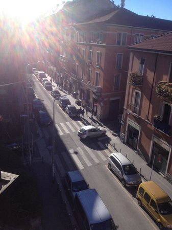 Leonardo Hotel Milan City Center : View from room 323