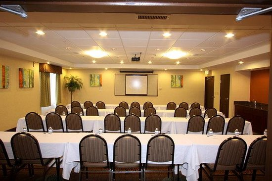 Holiday Inn Express Hotel & Suites Chicago-Algonquin : Classroom Syle (from back)
