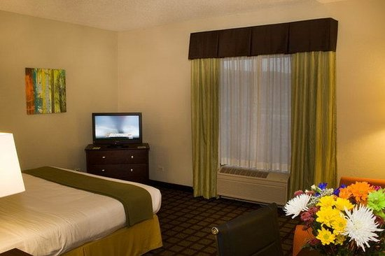 Holiday Inn Express Hotel & Suites Chicago-Algonquin : King Executive Room