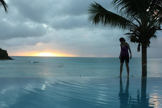 Bolans, Antigua: Sunset pool! Very nice!