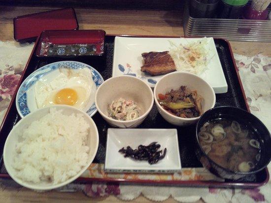 Okinawa Oriental Hotel: 朝ごはんです。(和食)