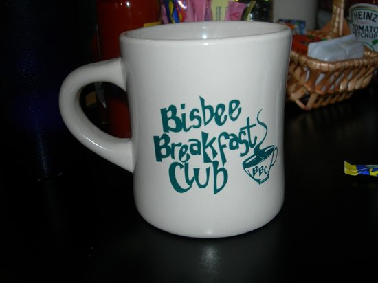 Bisbee Breakfast Club : You can buy a souvenir mug to memorialize your visit