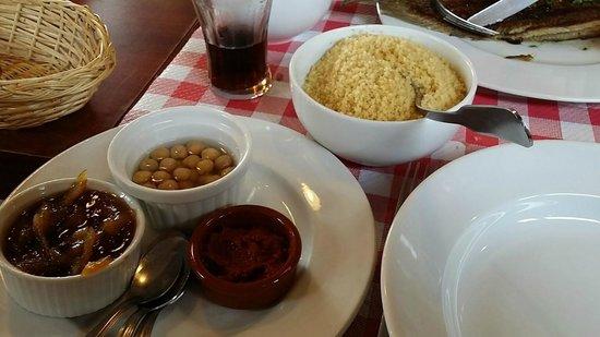 La Croix Du Sud restaurant : Couscous 1 personne (31/01/2013)