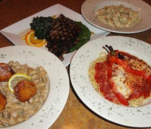 Ezio's Italian Restaurant: Homeade pasta and hand cut steaks!