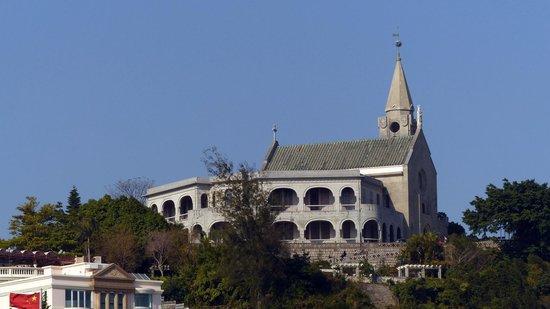 Our Lady of Penha: Penha Church overlooking Macau