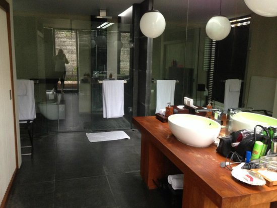 Javana Royal Villas: Bathroom and Toilet
