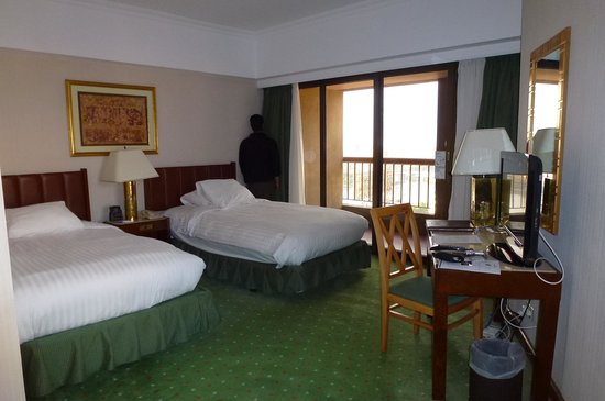 Ramses Hilton : standard room nile view