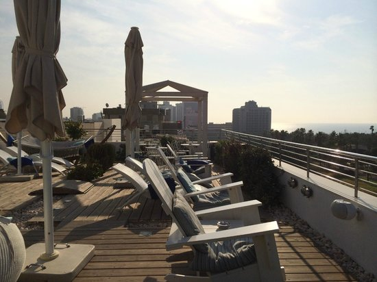 Shalom Hotel & Relax Tel Aviv - an Atlas Boutique Hotel: Rooftop relaxation
