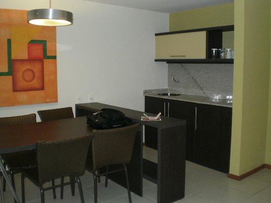 Pestana Bahia Lodge : Pequena cozinha
