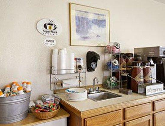 Super 8 Denver Central : Breakfast Area