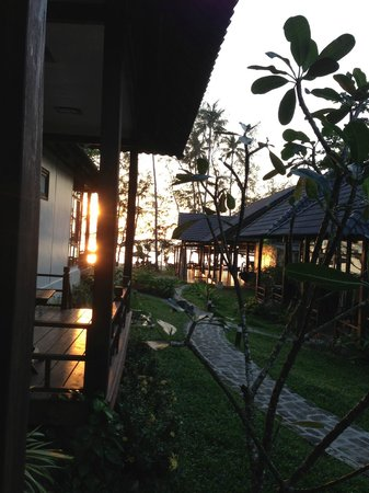 Arcadia Phu Quoc Resort: Lovely sunset on the water