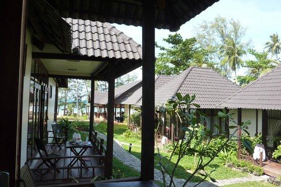 Arcadia Phu Quoc Resort: The sunny deck
