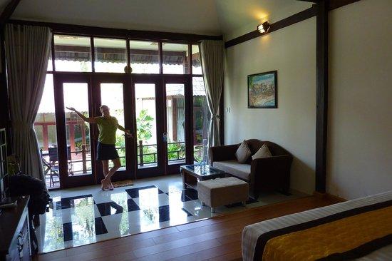 Arcadia Phu Quoc Resort: Our sitting area
