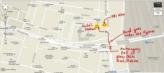 FabHotel Paharganj: Location of Hotel