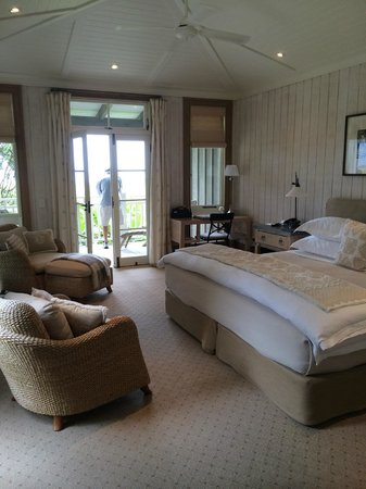 The Lodge at Kauri Cliffs: Room/suite