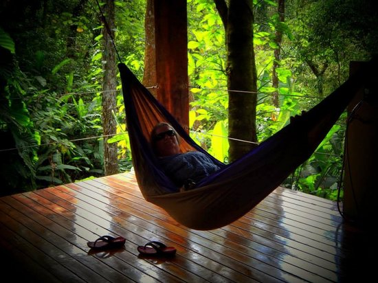 Prana Rainforest Retreat: HAMMOCK IN THE JUNGLE
