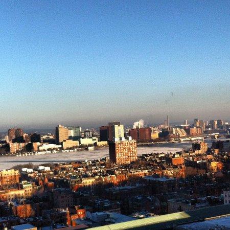 Hilton Boston Back Bay : Vista da janela do quarto 25 andar