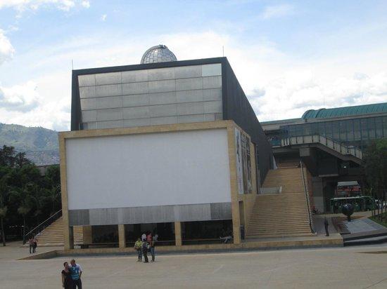Planetario de Medellín: Entrada para el nivel alto