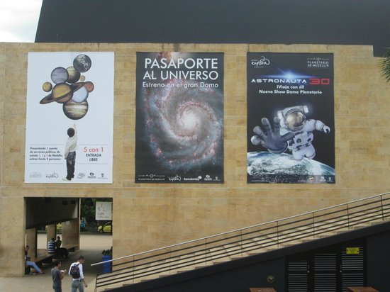 Planetario de Medellín: Invitación a la programacion