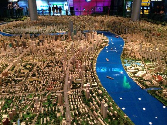 Shanghai Urban Planning Exhibition Hall: 1 to 5000