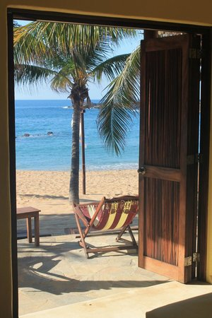 Punta Placer Bungalows : view from room