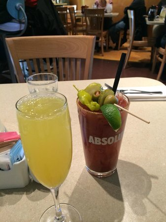 Wild Eggs: Mimosa and Proud Mary
