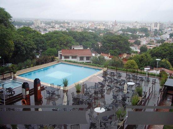 Sheraton Salta Hotel: Vista desde el 5to. piso.