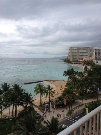 Pacific Beach Hotel: Veiw from 10th floor ocean front king room