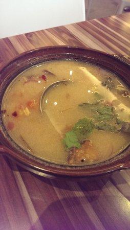 Silom Thai Food: tom yum shrimp